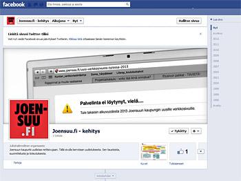Joensuu.fi Facebook-sivu