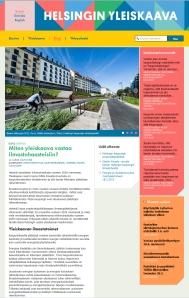 Helsingin yleiskaavan sivusto