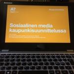 Sosiaalinen media kaupunkisuunnittelussa
